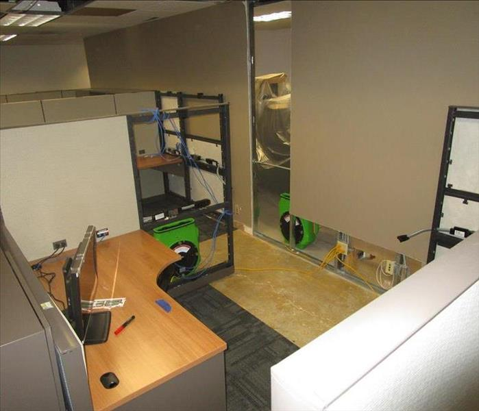 Water Floods Commercial Office Space